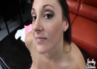 Trimmed pussy banged hard in POV
