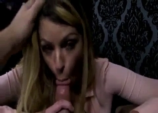 Blond craving that family cum here