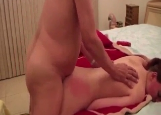 Bent over and banged by a relative