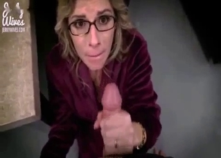 Mommy forced to suck son's cock