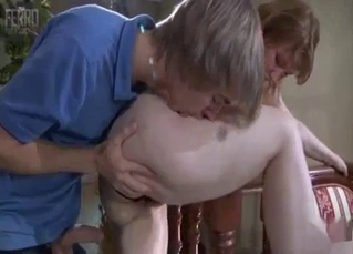 Russian mommy fingered by her son