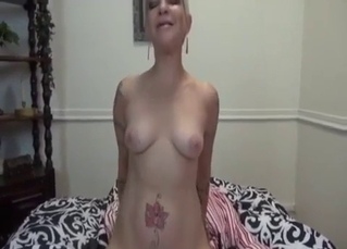 Busty babe starring in a hot incest clip