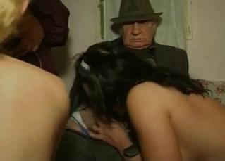 Kinky incest in a dimly lit room