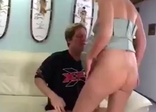 Intense incest cock-riding in high quality