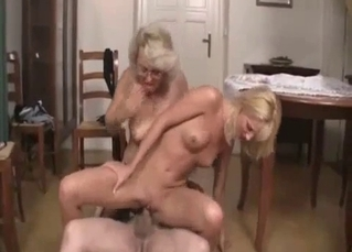 Skinny slut enjoying brutal fucking