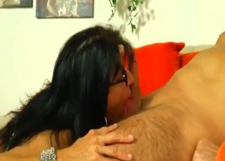Mommy fucking her brother on camera