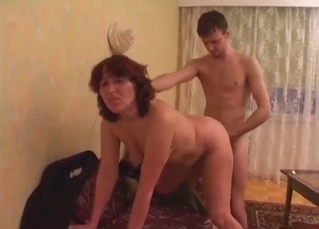 Mommy loves riding her boy's boner