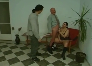 Young slut cannot wait for dad's cock