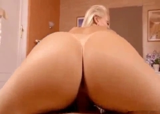 POV cock-riding from big booty mommy