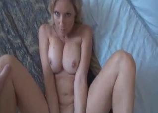 Mommy stroking and getting fucked