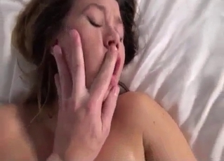 Close-up fingering and intense sex