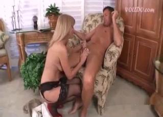 Big tits beauty enjoying extreme sex