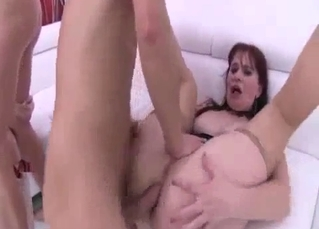 Gang-bang starring mom and daughter
