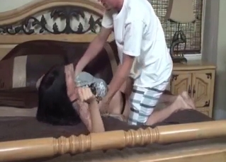 Mommy wants her son's meaty cock